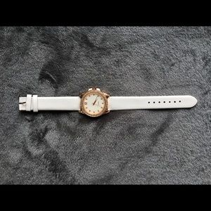 Jewelry - White banded watch